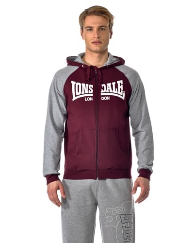 Lonsdale Sudadera London Capucha Zip Theo
