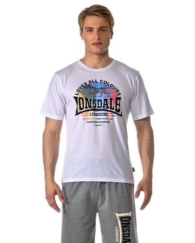 Lonsdale Camiseta Lonsdale Loves All Colours