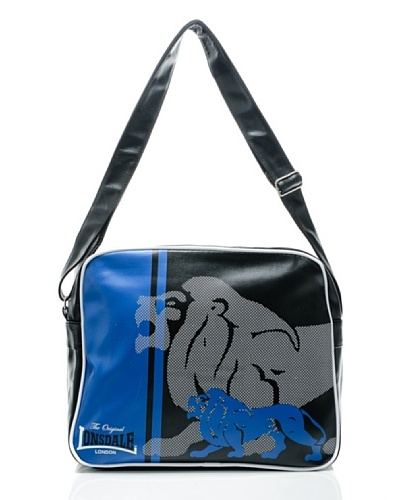 Lonsdale Bandolera Lion Negro / Azul