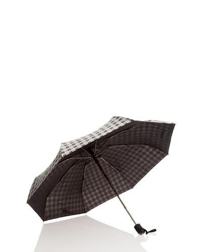 Dots Paraguas Plegables Negro