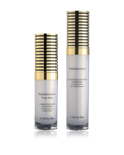 L'Or by One Set Crema De Ojos De Día Reafirmante 15 ml + Crema Illuminescence 30 ml