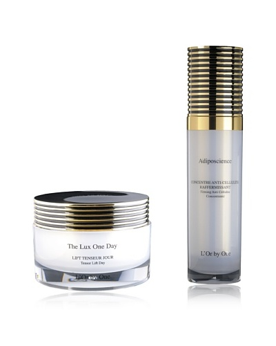 L'Or by One Set  Crema De Día The Lux One Day + Crema Anti-Celulitis Adiposcience 120 ml