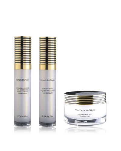 L'Or by One Set Sérum By One 30 ml + Crema De Ojos De Noche Reafirmante 15 ml + Crema de Manos 30 ml