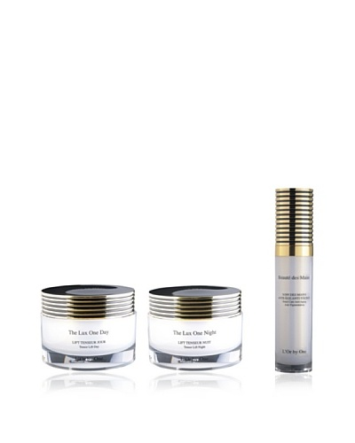 L'Or by One Set Crema Día Lux One Day 50 ml + Crema Noche Lux One Day 50 ml + Crema Manos 30 ml
