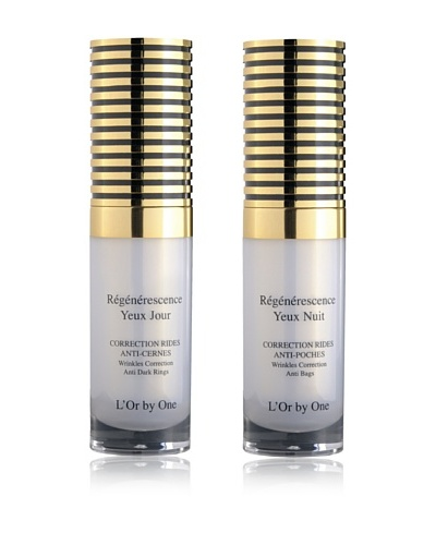 L'Or by One Set Crema De Ojos De Día Reafirmante 15 ml + Crema De Ojos De Noche Reafirmante 15 ml