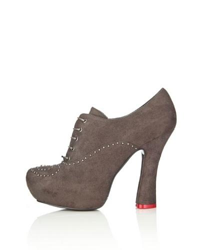 Love Moschino Zapatos abotinados Gioacchino Gris