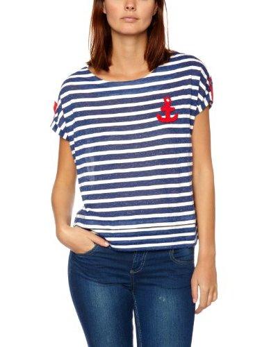 Lowie Camiseta Acqui Azul / Blanco