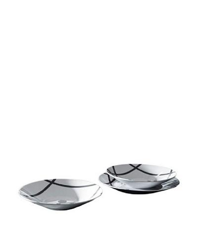 Luminarc Vajilla Redonda 18 Piezas Modelo Oxford Grey