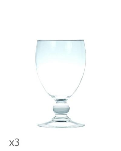 Luminarc Estuche 3 Copas Agua 25 cl Modelo Costa Transparente