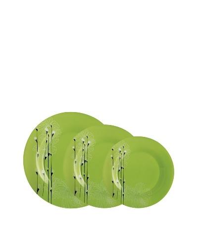 Luminarc Vajilla Redonda 18 Piezas Modelo Rhapsody Verde