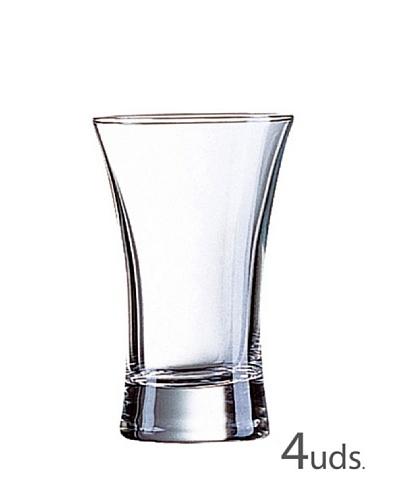 Luminarc Estuche 4 Vasos Licor 7 Cl Modelo Hot Shot
