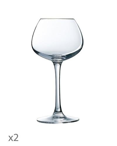 Luminarc Estuche 2 Copas 35 cl Modelo Blancs Delicats Vinery Excellence