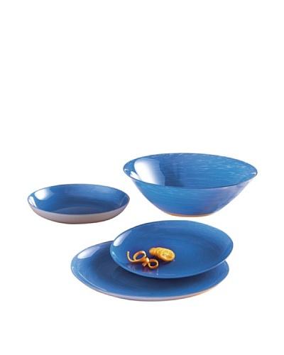 Luminarc Vajilla Redonda 19 Piezas Modelo Stonemania Blue
