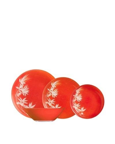 Luminarc Vajilla Redonda 19 Piezas Modelo Darjeeling Orange