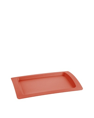 Lurch Big Green Foot Bandeja rectangular Rojo