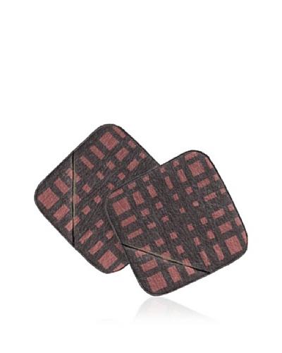 Lurch Set de 2 Manoplas Silicona / Textil Marrón