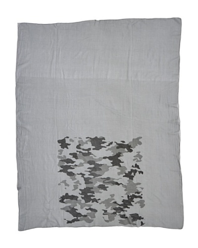Magenta 60 Stola Mimetico Misto Seta grigio