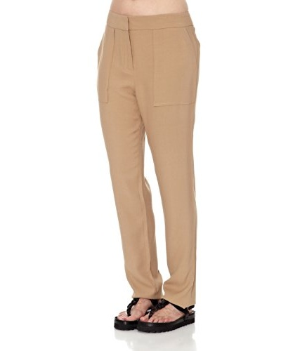 Mango Pantalón Ideal Camel