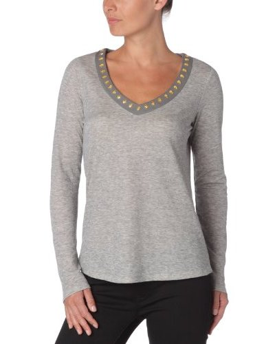 Manoush Camiseta Fatma Gris