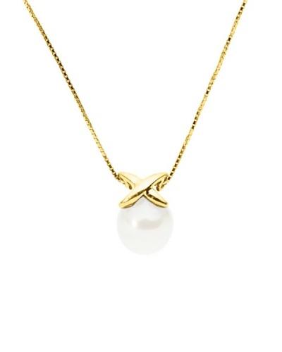 Manufacture Royale Collar Oro Amarillo (9-10 mm)