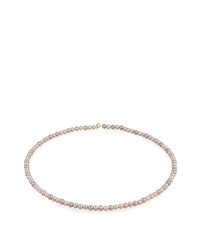 Manufacture Royale Collar de Oro Amarillo 9 ct con Perlas Multicolor (4,5-5 mm)