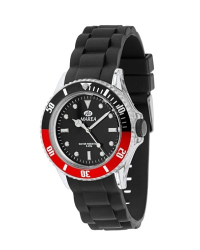 Marea 32052/5 - Reloj Unisex silicona Negro