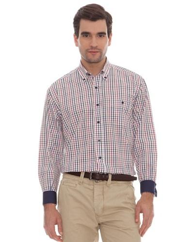 Marengo Camisa Cuadros Bicolor