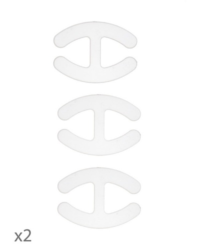 Mariola Pack 6 Accesorios Cruzatirantes Invisibles
