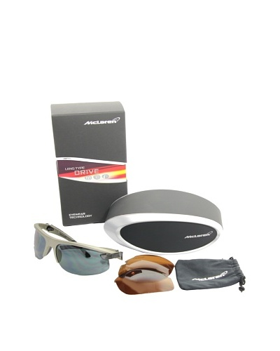 Mclaren Gafas de Sol MPS-004-CA-2171-DRI Plata / Negro