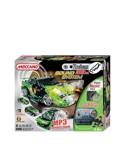 Meccano Tunning Tuning RC MP3 Sound System - Verde