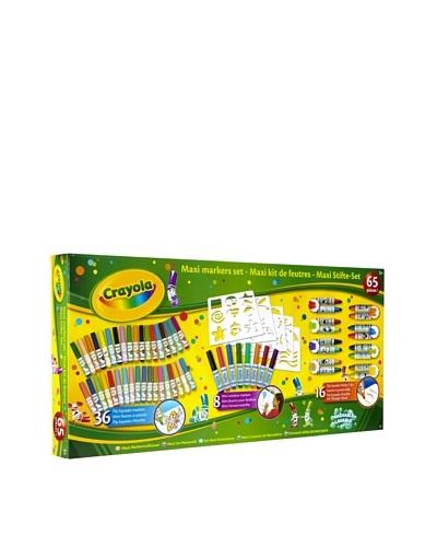 Crayola Coloring / Manualidades Core Maxi-Kit de rotuladores