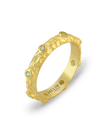 Melin Paris Anillo Topacio Azul