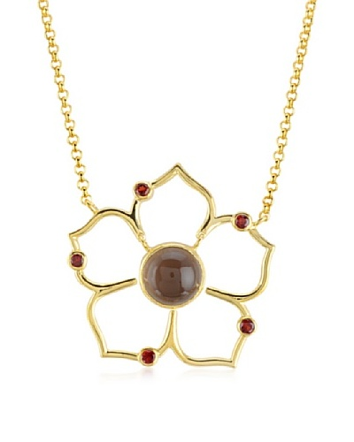 Melin Paris Collar Garnet & Smoky Quartz