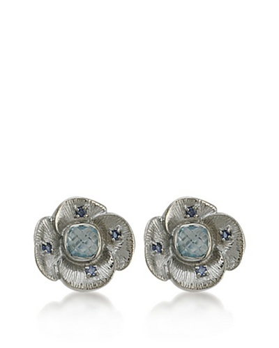 Pendientes Iolite and Blue TopazEarrings