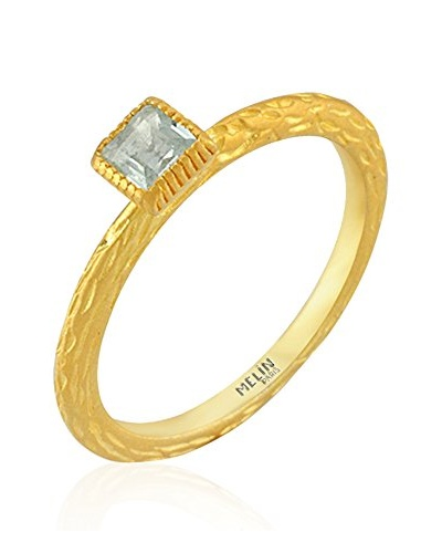 Melin Paris Anillo Topacio Dorado
