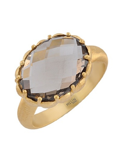 Anillo Smoky Quartz
