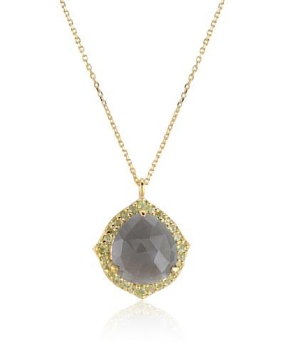 Melin Paris Collar Gris Piedra de Luna & Peridoto