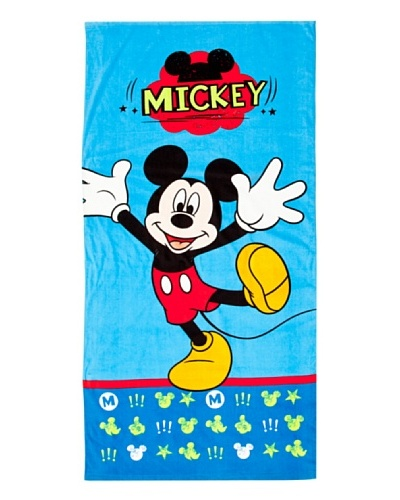 MICKEY Toalla Playa Blue
