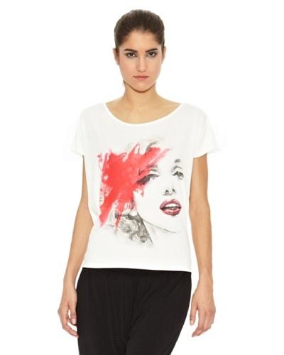 Milles Camiseta Símbolo Marilyn Crudo