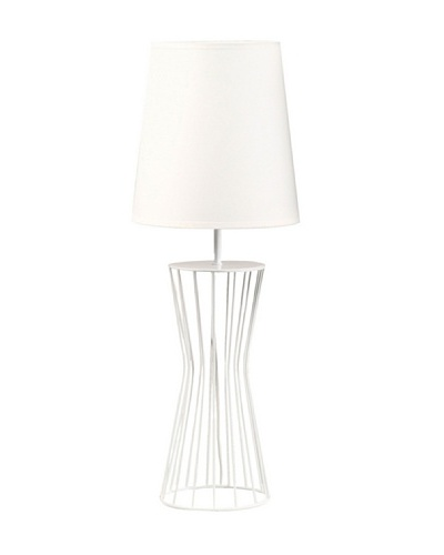 Mimma Lámpara 15 X 39cm blanca