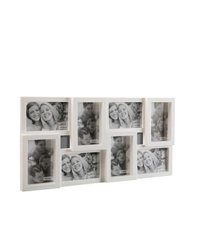 Mimma Portafotos 8 Ventanas blanco