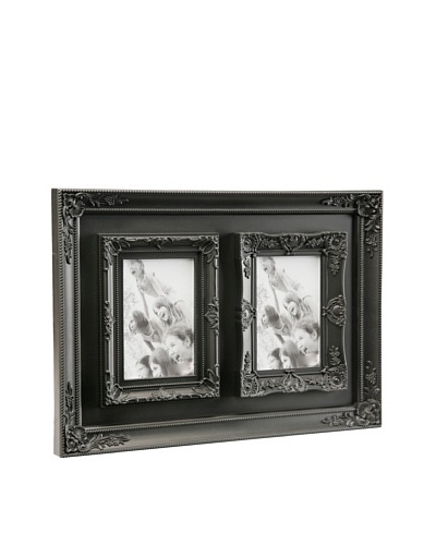Mimma Portafotos Doble 10 x 15 Negro