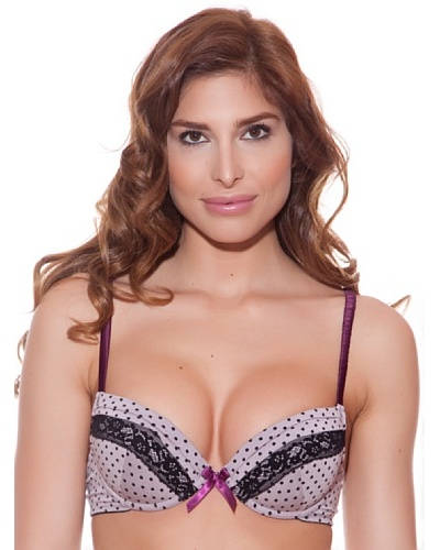 Minerva Sujetador Lunares Push up
