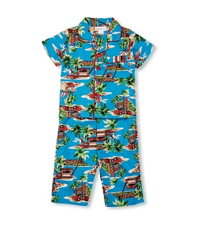 Mini ZZZ Pijama Hawaii