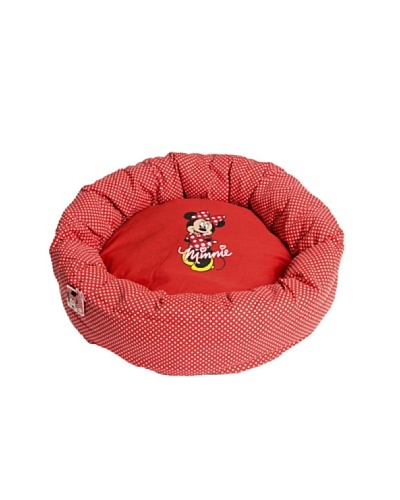 Minnie Cama Ovalada Roja 50 cm Rojo