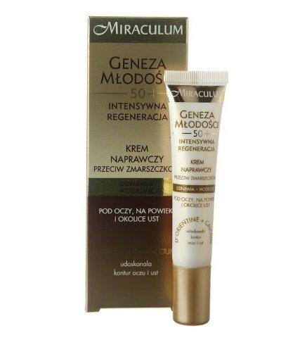 Miraculum Crema Contorno De Ojos Anti-Arrugas 50+ Regeneración Intensa  15 ml