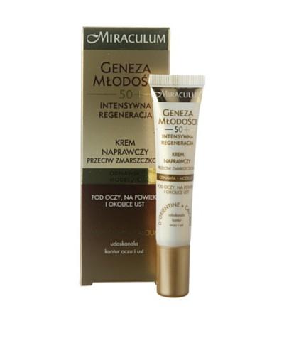Miraculum Crema Contorno Ojos Anti-Arrugas regeneradora Elixir de Juventud 50+ 15 ml