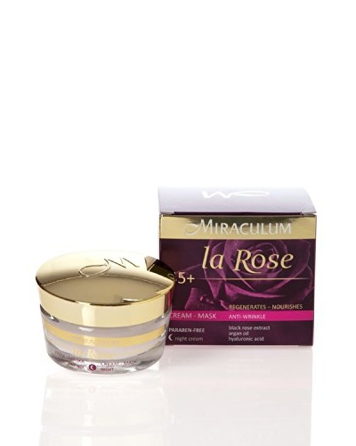 Miraculum Crema Mascarilla de Noche Anti-Arrugas La Rose 45+ 50 ml
