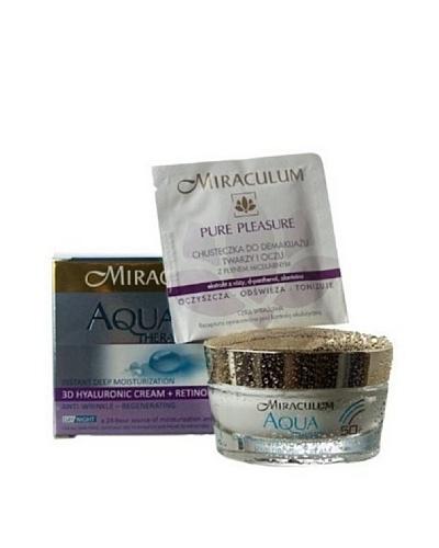 Miraculum Crema Súper Hidratante Día y Noche Aqua Therapy 50+ 50 ml