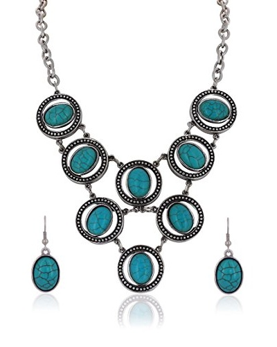 Miss Jones Conjunto Collar y Pendientes 8326388